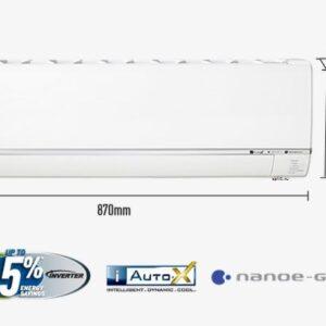 Panasonic Deluxe CS / CU-E28RKD