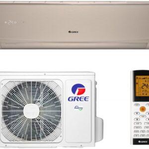 Кондиціонер GREE  LOMO GWH09QE-K6DND2E INVERTER Wi-Fi CHAMPAGNE (Золото)